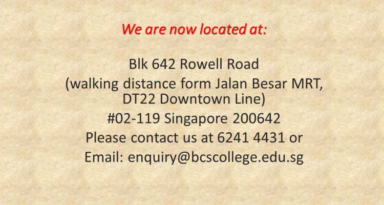 We are now located at PIC